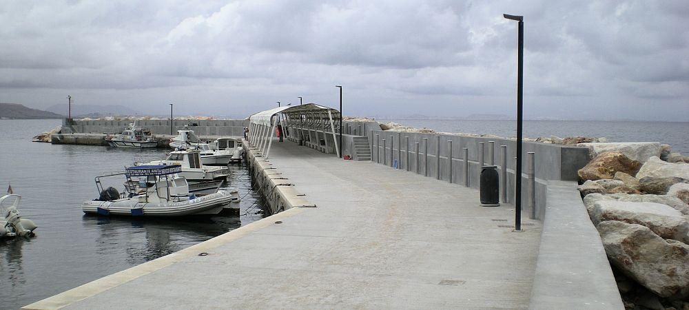 Emergency works in Tabarca Port (Alicante)